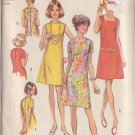 SIMPLICITY PATTERN 8882 MISSES' DRESS WITH 3 NECKLINES SIZE 16