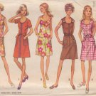 SIMPLICITY PATTERN 8872 MISSES' DRESS IN 5 VARIATIONS SIZE 14