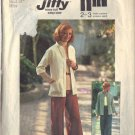 SIMPLICITY PATTERN 7024 SIZE 12 DATED 1975, MISSES' JACKET, PANTS