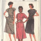 SIMPLICITY PATTERN 6905, DATED 1985 MISSES EASY DRESS & BELT SZ