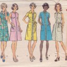 SIMPLICITY PATTERN 6077 MISSES' DRESS IN 5 VARIATIONS IN SIZE 14 1/2
