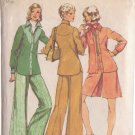 SIMPLICITY PATTERN 5931 MISSES' SHIRT-JACKET, SHORT PANTSKIRT, PANTS SIZE 10