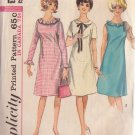 SIMPLICITY PATTERN 5910 TEENS' DRESS IN 3 VARIATIONS SIZE 12T