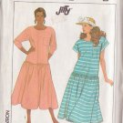 SIMPLICITY PATTERN  9043 MISSES' DRESS TWO VARIATIONS SIZE SMALL 10-12 UNCUT