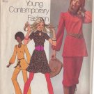 SIMPLICITY 9555 PATTERN MISSES' PANTS, KNICKERS, TUNIC, MINI SKIRT SIZE 14