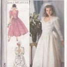 SIMPLICITY 9505 PATTERN DATED 1989 MISSES' BRIDE'S, BRIDESMAID DRESS SIZE 8-14