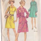 SIMPLICITY 9501 PATTERN DATED 1971 MISSES' DRESS IN 3 VARIATIONS IN SIZE 14