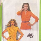 SIMPLICITY 9467 PATTERN DATED 1980 MISSES' PULLOVER TOP 2 VARIATIONS SIZE 14