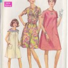 SIMPLICITY 7551 PATTERN MISSES' DRESS 3 VARIATIONS SIZE 14 1/2 uncut
