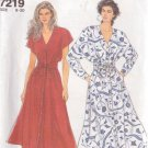SIMPLICITY 7219 PATTERN SIZES 8-20 UNCUT MISSES' DRESS IN 2 VARIATIONS