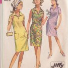 SIMPLICITY 7116 PATTERN MISSES' DRESS AND SCARF 3 VARIATIONS SIZE 16