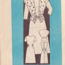 PRINTED PATTERN 4783 MISSIES' ONE-PIECE DRESS, VEST SIZE 10