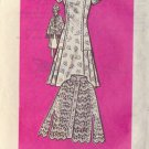 PRINTED PATTERN 9411 SIZE 14 MISSES' ONE-PIECE DRESS, CROCHETED CAPE