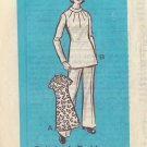 PRINTED  PATTERN 9053 MISSIES' ONE-PIECE DRESS, TUNIC, PANTS SIZE 14
