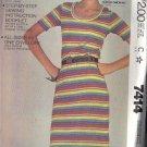 McCall's Pattern 7414 dated 1981, dress sizes petite, small & medium UNCUT