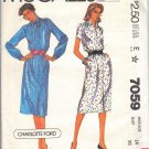 McCall's pattern 7059 dated 1980, for a Misses' dress in size 14