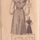 MARIAN MARTIN PATTERN 9372 MISSES' JUMPER AND BLOUSE 2 VARIATIONS SIZE 18
