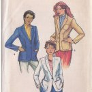 BUTTERICK PATTERN 6998 MISSES' BLAZER IN 3 VARIATIONS  SIZE 16 UNCUT