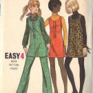 BUTTERICK PATTERN 5973 NOT DATED, JUNIOR PETITE JUMPER & PANTS SIZE 7JP