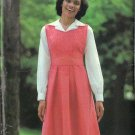 BUTTERICK PATTERN 5831 MISSES' SANDWICH BOARD JUMPER SIZE 12