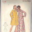 BUTTERICK PATTERN 5743, MISSES' ROBE SIZE 18
