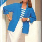 BUTTERICK PATTERN 5498 MISSES' JACKET, TOP, SKIRT SIZES 8-10-12