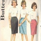 Butterick 3144, dated 1967 for a fully proportioned skirt waist 28""