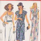 BURDA PATTERN 8471 MISSES'S DRESS, JACKET SZS 34/36/38/40/42