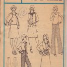 McCALL'S PATTERN 4844 MISSES' SHIRT-JACKET, TOP, SKIRT, PANTS SIZE 10