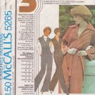 McCALL'S PATTERN 5265 MISSES' JUMPSUIT IN 2 VARIATIONS SIZE 12/14/16