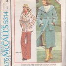 McCALL'S PATTERN 5314 MISSES' JACKET ONLY SIZE SMALL
