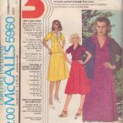 McCALL'S PATTERN 5960 MISSES' BLAZER, BLOUSE, SKIRT SIZES 12/14/16 UNCUT