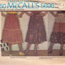 McCALL'S PATTERN 5696 MISSES' SET OF SKIRTS SIZE 8 UNCUT