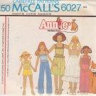 McCALL'S PATTERN 6027 CHILDS' TOP, SKIRT, PANTS, SHORTS SIZE SM 6/8 UNCUT