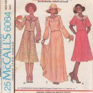 McCALL'S PATTERN 6064 MISSES' BRIDAL DRESS IN 3 VARIATIONS SIZE 8