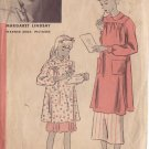 HOLLYWOOD VINTAGE PATTERN 941, 1940'S, SMOCK SIZE 16 MARGARET LINDSAY