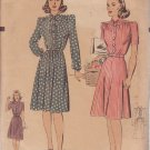 HOLLYWOOD VINTAGE PATTERN 1136 MISSES' 1 PC DRESS 3 VARIATIONS SIZE 18