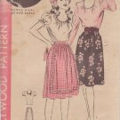 HOLLYWOOD VINTAGE PATTERN 1272 CHILD'S BLOUSE AND SKIRT SIZE 10 RENEE HAAL
