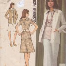 SIMPLICITY 5530 VINTAGE PATTERN MISSES' CARDIGAN, BLOUSE, SKIRT, PANTS SIZE 14