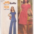 SIMPLICITY 5556 VINTAGE PATTERN MISSES' DRESS OR TUNIC, PANTS SIZE 12