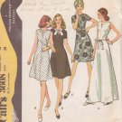 McCALL'S VINTAGE PATTERN 3608 MISSES' DRESS IN 4 VARIATIONS SIZE 16