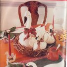 BUTTERICK PATTERN 5803 GOOSE IN 3 SIZES, PLACEMAT, NAPKIN RINGS UNCUT