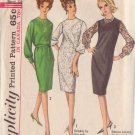 SIMPLICITY 5701 VINTAGE PATTERN MISSES' DRESS IN 3 VARIATIONS SIZE 14