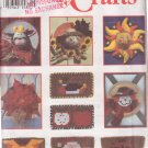 SIMPLICITY PATTERN 9129 DECORATIVE HATS AND DOOR MATS PACKAGE UNCUT