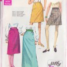 SIMPLICITY PATTERN 7725 SIZE 24 MISSES' SKIRTS IN 4 LENGTHS