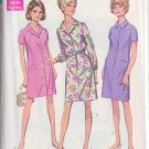 SIMPLICITY PATTERN 7729 MISSES' STEP IN DRESS AND COAT DRESS SIZE 14 1/2