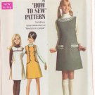 SIMPLICITY PATTERN 7825 YNG JR/TEEN JUMPER IN 3 VARIATIONS SIZE 11/12 UNCUT