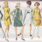 SIMPLICITY VINTAGE PATTERN 7991 MISSES' DRESS, CARDIGAN COAT, JACKET SIZE 12 UNCUT