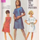 SIMPLICITY PATTERN 8012 SIZE 8 MISSES' DRESS IN 2 VARIATIONS SIZE 8 UNCUT