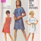 SIMPLICITY PATTERN 8012 MISSES' DRESS IN 2 VARIATIONS SIZE 8 UNCUT